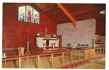 Main Altar St. Roch Catholic Church Caseville Michigan Mi 1962 Postcard