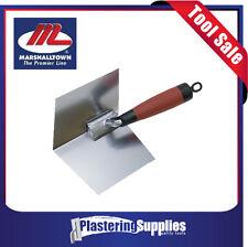 "Marshalltown 4"" x 5"" Stainless Steel Inside Corner Trowel Plastering Tool 15323"