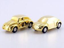 Schuco Piccolo Weihnachtsgeschenk 2002 VW Käfer und Beetle gold # 5017122