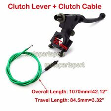 Clutch Lever Green Cable For KLX Lifan 50cc 90cc 125cc Pit Dirt Motor Trail Bike