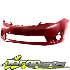 FRONT BAR COVER RED SUIT ASV50 CAMRY TOYOTA 11-15 BUMPER