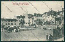 Firenze Fiesole Garibaldi cartolina QQ2304