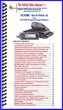 Icom Id-4100A /E Mini-Manual by Nifty Accessories