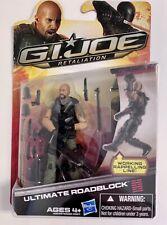 G.I. Joe Retaliation Ultimate Roadblock Mint On Card  POC 25th, 30th, 50th