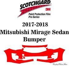 3M Scotchgard Paint Protection Film Pro Series 2017 2018 Mitsubishi Mirage Sedan