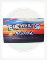 25x Packs Element Single Wide  ( 100 Leaves Papers Each Pack )  Rolling FULL BOX