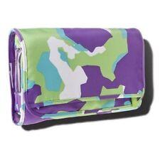 Sonia Kashuk Makeup Bag Hanging Valet Travel Organiser Camo Purple Green