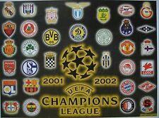 Karte UEFA CL Finale 2002 Real Madrid - Bayer Leverkusen