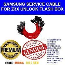 Z3x Box Samsung S3 S4 S5 S6 S7 uart de déclenchement de flash service câble pack x 15