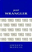 1993 Jeep Wrangler Owners Manual User Guide