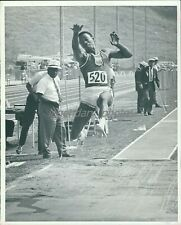 1960s Gayle Hopkins Olympic Long Jumper Original News Service Photo