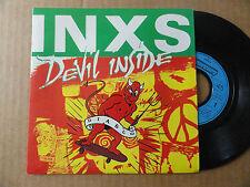 """DISQUE 45T DE  INXS   """" DEVIL INSIDE """""""