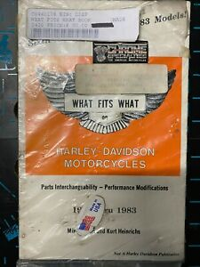 WHAT FITS WHAT ON HARLEY DAVIDSON MOTORCYCLES 6TH EDITION 1936-1983