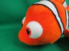 "Disney Store Authentic Patch Finding Nemo Plush Big 16"" Stuffed Animal Gift Nwot"
