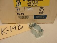 New Arlington Pipe Hangers, Catalog 2010, Size #1, (LOT OF 88) $30.80, or $.35ea