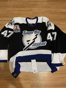 KOHO AUTO Grahame TAMPA BAY LIGHTNING STANLEY CUP AUTHENTIC TEAM ISSUED JERSEY