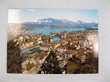 Luzern Mit Rigi Und Alpen Adligenswil Switzerland Unused Postcard Michelotti (O)