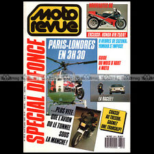MOTO REVUE 2810 KAWASAKI GPX 750 R ALPINE V6 TURBO HONDA RC 30 SUZUKI RG 500