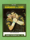 1991 KANGAROOS V LIONS RUGBY LEAGUE CARD #191 BENNY ELIAS & MAL MENINGA