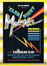 In Ter Dance Rave Flyers A5 13/11/92 Rare Caribbean Club Basingstoke