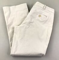 "Talbots Womens Capri Crop Pants SZ 8 Petite Stretch Khaki Tan 25"" Inseam"