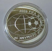 Italia ITALY 5 euro 2004 CALCIO FIFA WORLD CUP WORLD CUP GERMANIA 2006 ARGENTO PP