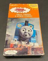 Thomas the Tank Engine Trust & Other Stories VHS 1991 George Carlin Children