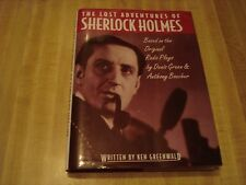 Awesome 1993 book - The Lost Adventures of Sherlock Holmes by Ken Greenwald