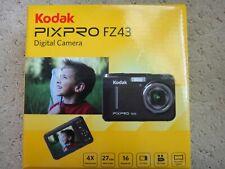 NEW Kodak PIXPRO FZ43 Friendly Zoom Digital Point Shoot Camera Black #FZ43-BK