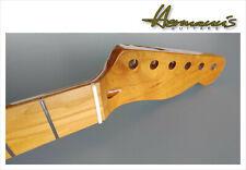 Tele Style Roasted Canadian Maple Neck, Maple Fretboard, 22 Medium Jumbo Frets