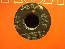 """EARL THOMAS CONLEY Love Out Loud/No Chance, No Dance 7"""" 45 late-80's country"""
