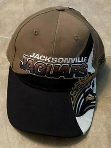 Jacksonville Jaguars Reebok Gold & Black Hat Cap Adjustable Strapback NEW no tag
