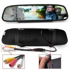 "4.3"" Car TFT LCD Mirror Monitor for Reverse Car Rear View Backup Camera Parking"
