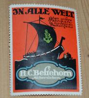 37960 Vignette Anuncio En Todos Mundo Andar Nuestra Marcas H. C. Belthehorn