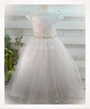 SWEETIE PIE COLLECTION Communion/Special Occasion Dress Organza with Sequins 7