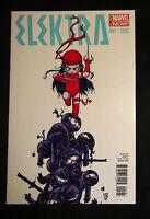 Elektra #1 Marvel Comics Skottie Young Variant NM