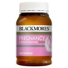 NEW Blackmores Pregnancy and Breast Feeding Gold 180 Capsules Baby's Health