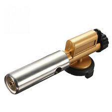 Electronic Ignition Flame Butane Gas Burners Gun Makers Torch Lighters Outdoor X