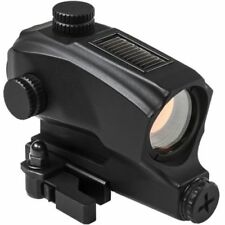 NcSTAR VDBSOL130 SPD Rifle Solar Powered Reflex Optic Red Dot Sight QR Life Time