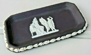 Black and White Wedgewood Dish, Made in England