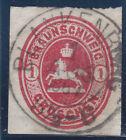 """Braunschweig 18 stamped (K1) """"BLANKENBURG 1:AUG 1867"""" , see SCAN"""