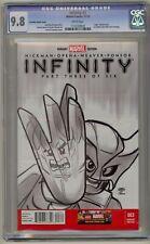 Infinity 3 CGC 9.8 Castellani Sketch Lego Variant Avengers War Thanos Hulk 340 2