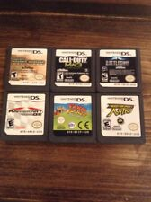 Mario Kart Nintendo DS Lot 6 Games Call Of Duty Need For Speed Battleship