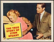 JACK LORD AS MOBSTER, THE TRUE STORY OF LYNN STUART 1958 LOBBY SET NARCO,