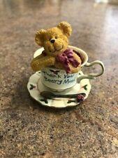 Boyds Bears Merci Teabearie Collectible, Euc, Cute