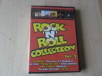 Rock 'n' roll collection 2 Beatles Joe Cocker Woodstock DVD lingua inglese Nuovo