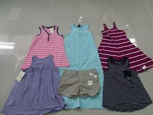GIRLS SIZE 6 / 7 SMALL NWT LOT OLD NAVY MISS UNERDSTOOD GAP RETAIL OVER $70.00