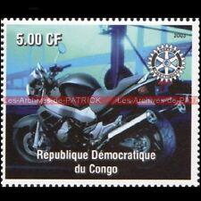 HONDA CB 1100 SF X11 Eleven CONGO 2003 Timbre Poste Moto Stamp Stempel Sello