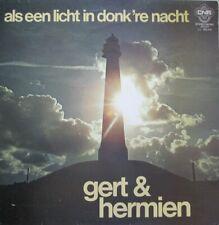 GERT & HERMIEN  - ALS EEN LICHT IN DONK'RE NACHT  -  LP