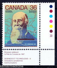 Canada MNH, Colour Guide, Frederick Gisborne, invented anti-induction ocea- In06